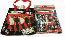 One Direction 1D Gift Set Stationary Set & Shopping Bag & Pencil Case
