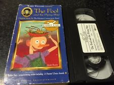 THE FOOL AND THE FLYING SHIP VHS VIDEO-ROBIN WILLIAMS NARRATES-RABBIT EARS