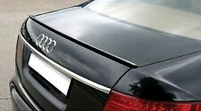 Audi A8 S8 D2 Sedan Rear Trunk Boot Spoiler Lip Wing Sport Trim Lid S Line RS -