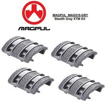 MAGPUL - MAG 510-GRY Enhanced XTM STEALTH GRAY Textured Rail Cover Kit - 4pcs