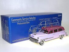 BROOKLIN MODELS csv.21, 1954 WELLER-DeSoto Ambulance, two-tone Lilac, 1/43