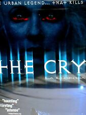The Cry La Llorona HORROR URBAN LEGEND MOVIE DVD WIDESCREEN ,HAUNTING, FAST SHIP