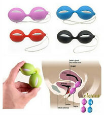 New Kegel Silicone Ben Wa Balls Excercise Pelvic Beads 6 Colors Random