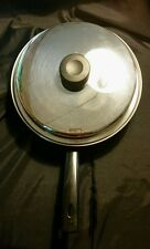 Amway Royal 10' 3 ply 18/8 saute pan with lid. Made in USA