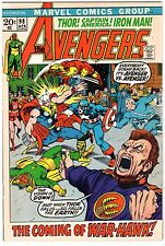 Avengers #98 - Goliath Becomes Hawkeye, Very Fine - Near Mint Condition.