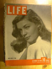 Life Magazine October 16 1944  Lauren Bacall St. Louis Browns Vintage Ads