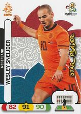 WESLEY SNEIJDER # 1/18 STAR PLAYER NETHERLANDS CARD PANINI ADRENALYN EURO 2012