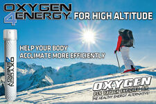 3 Cans of Oxygen4Energy Great for High Altitude or Increased Sports Performance