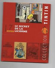 Collection Tintin Moulinsart Hachette 2010. n°7. Le Secret de la Licorne.. NEUF