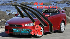 MITSUBISHI LANCER 4/5D saloon 2007-  Wind Deflectors 4pcs HEKO (23357)