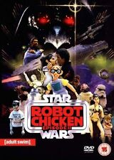 STAR WARS ROBOT CHICKEN EPISODE II ADULT SWIM REVOLVER UK REGION 2 DVD  NEW