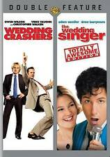 THE WEDDING SINGER & WEDDING CRASHERS DVD MOVIE 2 DISC SET UNRATED FREE SHIPPING