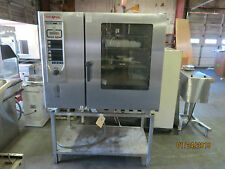 Used Rational Combi Oven, Natural Gas 208 Volt 1 phase with stand