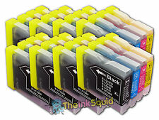 4 LC970 Bk/C/M/Y Ink Cartridges for Brother MFC-235C