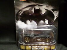 2014 HOT WHEELS RETRO TV BATMAN RETURNS BATMOBILE HOTWHEELS HW BLACK VHTF