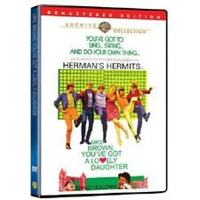 MRS BROWN YOU'VE GOT A LOVELY DAUGHTER. Hermans Hermits. UK compatible. New DVD.