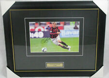 DAVID BECKHAM Hand Signed & Framed AC MILAN 8'x12' Photo