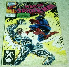 Web of Spider-Man 80, NM- (9.2) 1991 Silvermane! 50% off Guide!