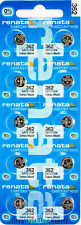 10 pc 362 Renata Watch Batteries SR721SW FREE SHIP 0% MERCURY