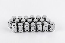 """Set 20 7/16"""" Chrome Lug Nuts For Classic & Vintage Chevy Cars 3/4"""" Hex W1076H"""