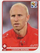 N°584 LUDOVIC MAGNIN # SWITZERLAND STICKER PANINI WORLD CUP SOUTH AFRICA 2010
