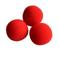10x Close-Up Magic Street Classical  Comedy Trick Soft Red Sponge Balls Props