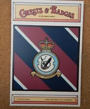 Royal Air force No 6 Squadron Crests & Badges of  the Armed services Postcard