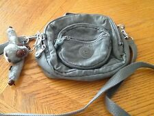 Kipling Gray Small Shoulder Bag