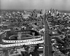TIGER STADIUM 8X10 PHOTO BASEBALL MLB PICTURE DETROIT TIGERS AERIAL W/ CITY VIEW
