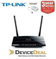 TP-LINK TD-W8970 Wireless N300 Gigabit ADSL2+ Modem Router - NBN Ready
