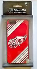 Detroit Red Wings NHL 3D Protective Apple Iphone 5 Cover Case