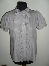 CAMICIA CASACCA IN COTONE E SETA MARC BY MARC JACOBS Tg. 8 ( 44 ITA) PREZZ AFFAR