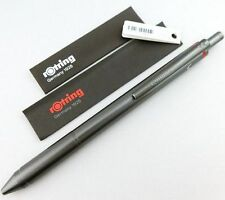 rOtring NEW QUATTRO-BALLPOINT PEN (Black, Red, Blue) & Mechanical Pencil 4 in 1
