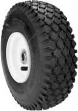 8278 (LOT of 2)  410 x 350 X 4,  2 ply stud tread Wheel & Tubless Tire Assembly