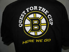 New NHL Boston Bruins Quest For The Cup T-Shirt Size XL (NWOT)