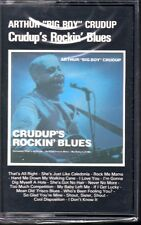 "Arthur ""Big Boy"" Crudup-CRUDUP'S ROCKIN' BLUES(CASSETTE) BRAND NEW FACTORY ISSUE"