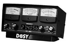 Dosy TFC-3001 1,000 Watt SWR/Mod/Watt Meter with Frequency Counter FASTEST SHIP