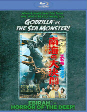Godzilla Vs. the Sea Monster (Blu-ray Disc, 2014) NEW