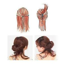 2Pcs Utility Large Small Magic Topsy Tail Hair Braid Ponytail Styling Maker Clip