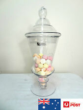 Clean glass candy lolly sweets buffet jar display container wedding party events