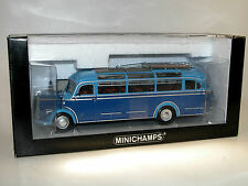 Minichamps 439360005, Mercedes-Benz O 3500 Bus, 1954, blau, 1/43 OVP