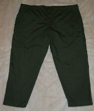 "BDU TROUSERS ""OLIVE DRAB"" HTF SZ 5X, 6 POCKETS, 50/50 POLY/COTTON RIPSTOP, NEW!"
