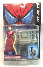 "Toybiz Series 2 Spider-Man Movie Mary Jane Metallic Variant 6"" Action Figure MIB"