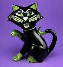 Lorna Bailey THE MAGNIFICENT HALLOWEEN CAT TEAPOT OCT 2006