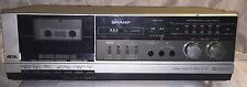 Vintage Sharp RT-310 (S) Stereo Cassette Tape Component ~Works~