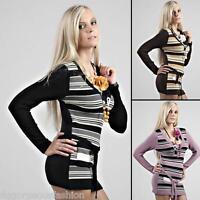 New Sexy Ladies Womens V-Neck Tunic Sweater Jumper Mini Dress Tops S/M/L 8/10/12