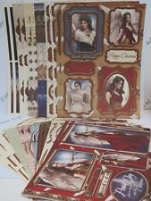 Debbi Moore Christmas Angels & Nativity Toppers & Sentiments 28pc pk AM691