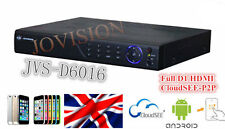 16 Channel dvr, H264 HDMI 1080p Full D1 Video Recorder, 2tb, 3G, wifi, cloud p2p