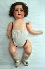 Antique vintage Heubach Koppelsdorf 320-4 bisque doll 19 inches