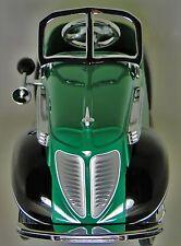 Pedal Car 1930s Black Fend Hot Rod Rare Vintage Classic Sport Midget Metal Model